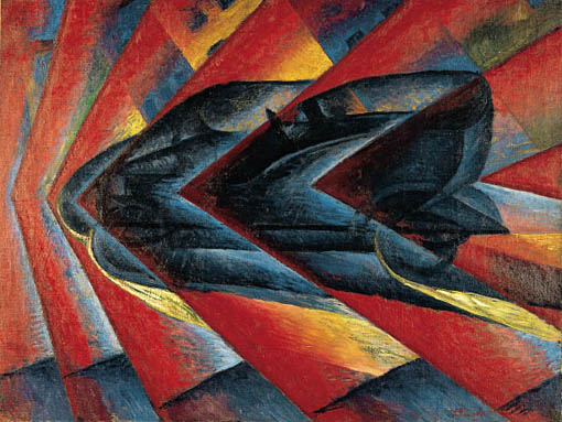 'The Dynamism of an Automobile' by Luigi Russolo